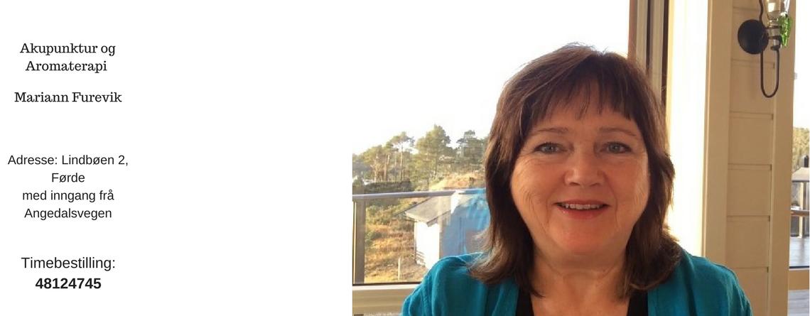 Akupunktur og Aromaterapi, Mariann Furevik